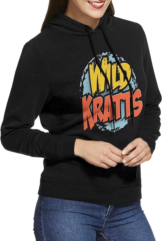 Dudkc Wild Kratts Womens Max Ranking TOP10 66% OFF Hoodie Breathable Sweatshirt