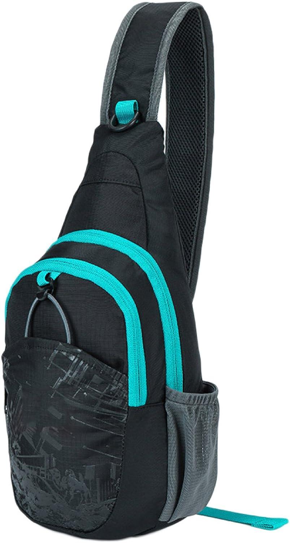 Brust Herren Brust Herren Und Damen Brust Freizeit Outdoor Sport Schulter Messenger Bag Multifunktionale Brusttasche B07B2D4F8Y  Bestseller
