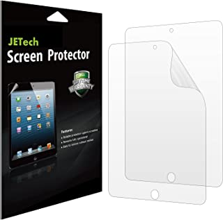 JETech Screen Protector for iPad (9.7-inch, 2018/2017 Model), iPad Air 1, iPad Air 2, iPad Pro 9.7-Inch, PET Film, 2-Pack