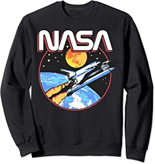 NASA Retro Lift Off Space Sweatshirt
