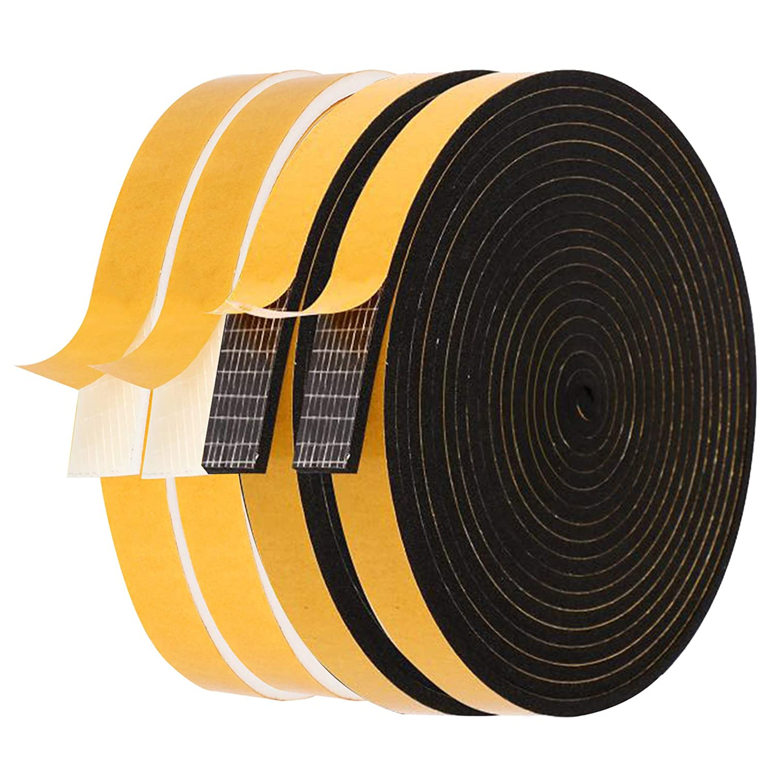 Max 72% OFF Foam Weather 1 year warranty Stripping-4 Rolls 1 2 Inch X Wide T Thick 8