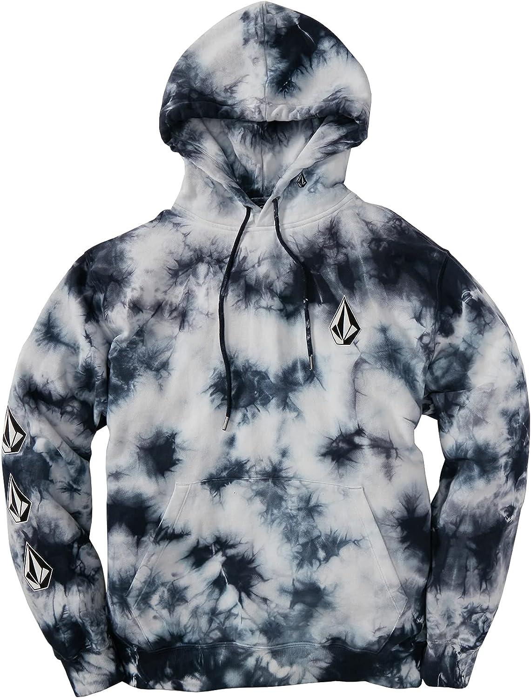 Volcom Men's Deadly Stones Hooded Fleece High order Sweatshirt quality assurance Pullover