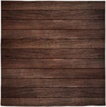 Allenjoy 8x8ft Vintage Brown Wood Photography Backdrop Retro Wood Floor Plank Newborn Baby Portrait Background Baby Shower 1st Birthday Party Banner Decoration Still Life Product Photo Booth Props