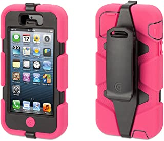 Griffin Survivor All-Terrain Rugged Case for iPhone 5/5S, iPhone SE, Pink/Black