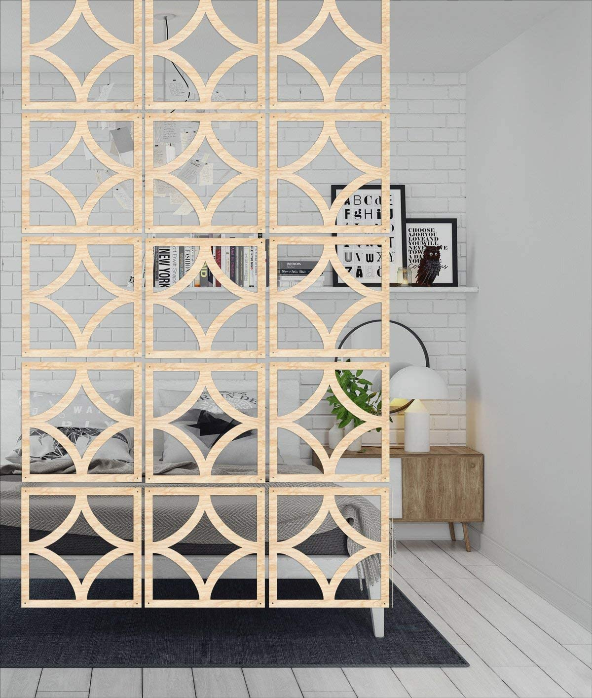 discount Wooden Room partition Fashionable - Style Rustic cm 12 29x29 Pieces