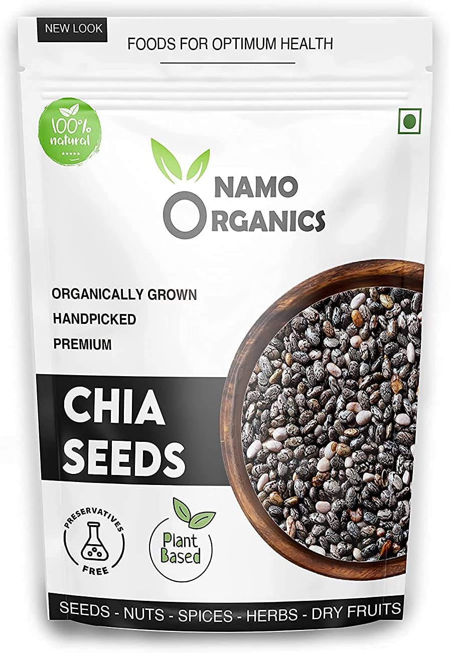 Carlos Namo Organics 500 Austin Mall Gm Organic Weight for A surprise price is realized Seeds Chia Loss