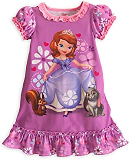 Little Girls' Sofia The First Nightgown Nightshirt Sleepwear