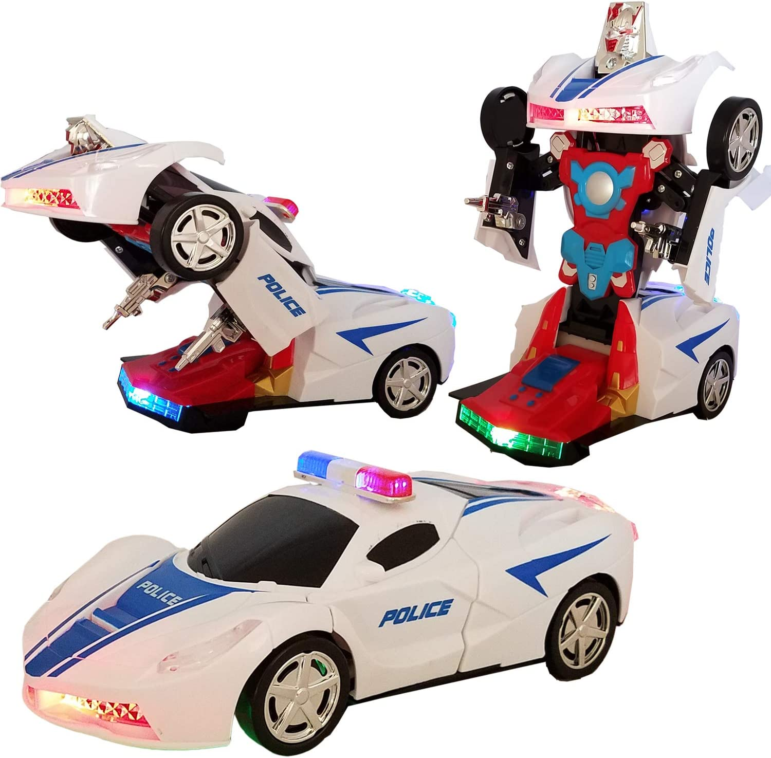 Trust Battery Operated Bump and Go Transforming Toys -Auto for Max 53% OFF Tr Kids
