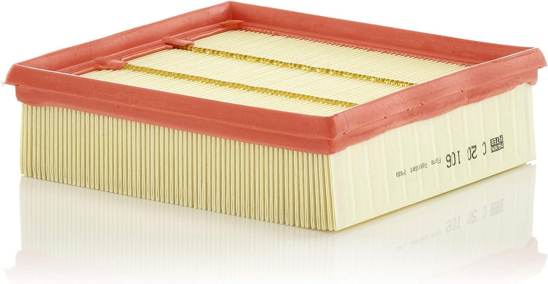 Original Mann Filter Luftfilter C 20 106 Für Pkw Auto
