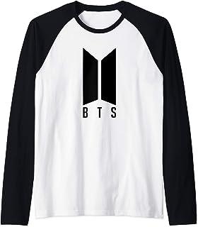 Official BTS Kpop Bangtan Boys Merchandise BTS01 Manche Raglan