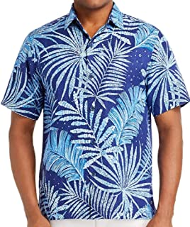 Through The Fronds Silk Camp Shirt