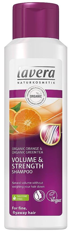 ひねくれた電極予感ラヴェーラ Organic Orange & Organic Green Tea Volume & Strength Shampoo (For Fine, Flyaway Hair) 250ml/8.3oz並行輸入品