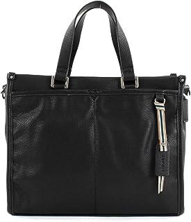 ESPRIT Damen Handtasche Tasche Henkeltasche Kayla City Bag Schwarz 118EA1O038