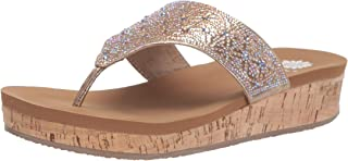 Yellow Box Women's Cristal Wedge Sandal