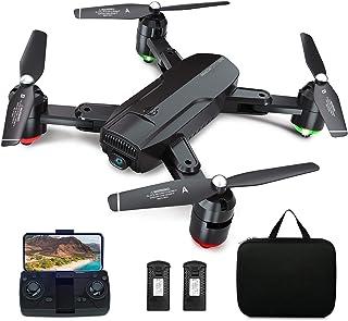 Dragon Touch Drone Plegable GPS con Cámara 1080P HD Avión con WiFi FPV Control Remoto Modo sin Cabeza RC Quadcopter Drone ...