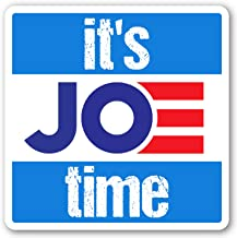 Crafted-Brand Joe Biden Sticker – Easily Removable Vinyl Decal with A Clever Anti-Trump Twist (3.75 X 7.5 Inch)