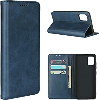 iCoverCase Samsung A71 Case, Leather Wallet Case Cover Card Holder Shockproof Protective Flip Case For Samsung Galaxy A71 ...