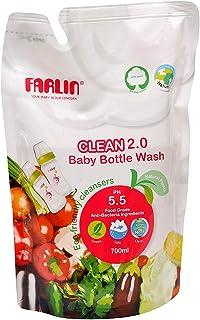 عبوة سائل منظف كلين 2.0 لتنظيف زجاجات الاطفال، عبوة لاعادة الملء من فارلين، AF-10005، 700 مل