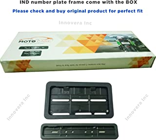 Bike Number Plate Frame(Standard Size for All Bikes) - Set of Two