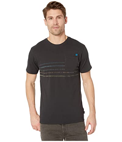 Billabong Spinner Short Sleeve T-Shirt (Black) Men