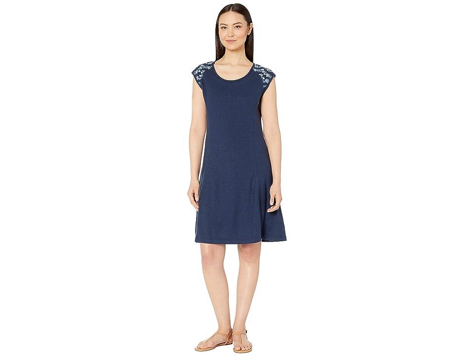 Royal Robbins Flynn Scoop Neck Dress (Deep Blue) Women