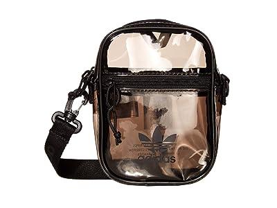 adidas Originals Originals Tinted Festival Crossbody (Carbon Grey/Black) Handbags