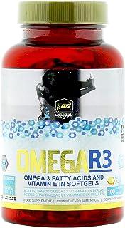 OMEGA R3 100 Perlas - Ácidos Grasos Esenciales Omega 3 y Vitamina E en perlas