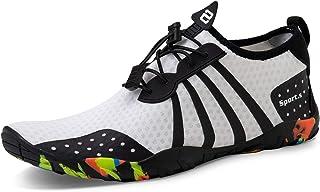 Water Sports Shoes Beach Swim Shoes Quick-Dry Barefoot Aqua Socks Pool Surf Yoga Water Aerobics Shoes for Mens Womens