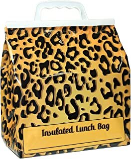 Jay Bags HB-25 Lunch Reusable Insulated Food Bag, Leopard