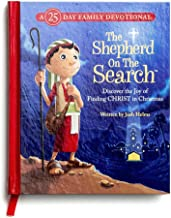 DaySpring Inspirational Christmas The Shepherd On The Search Advent Book, Blue (60946)