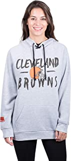 Ultra Game NFL Women's Fleece Hoodie Pullover Sweatshirt