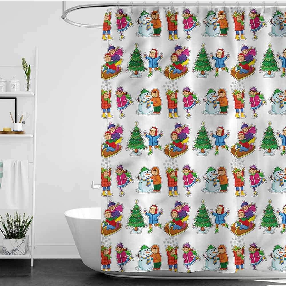 Shower Curtains A surprise price is realized Kids Boys in Seasonal Popular L7 x Clothes INCH W72