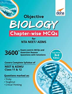 Objective Biology Chapter-Wise MCQS for Nta Neet/ Aiims