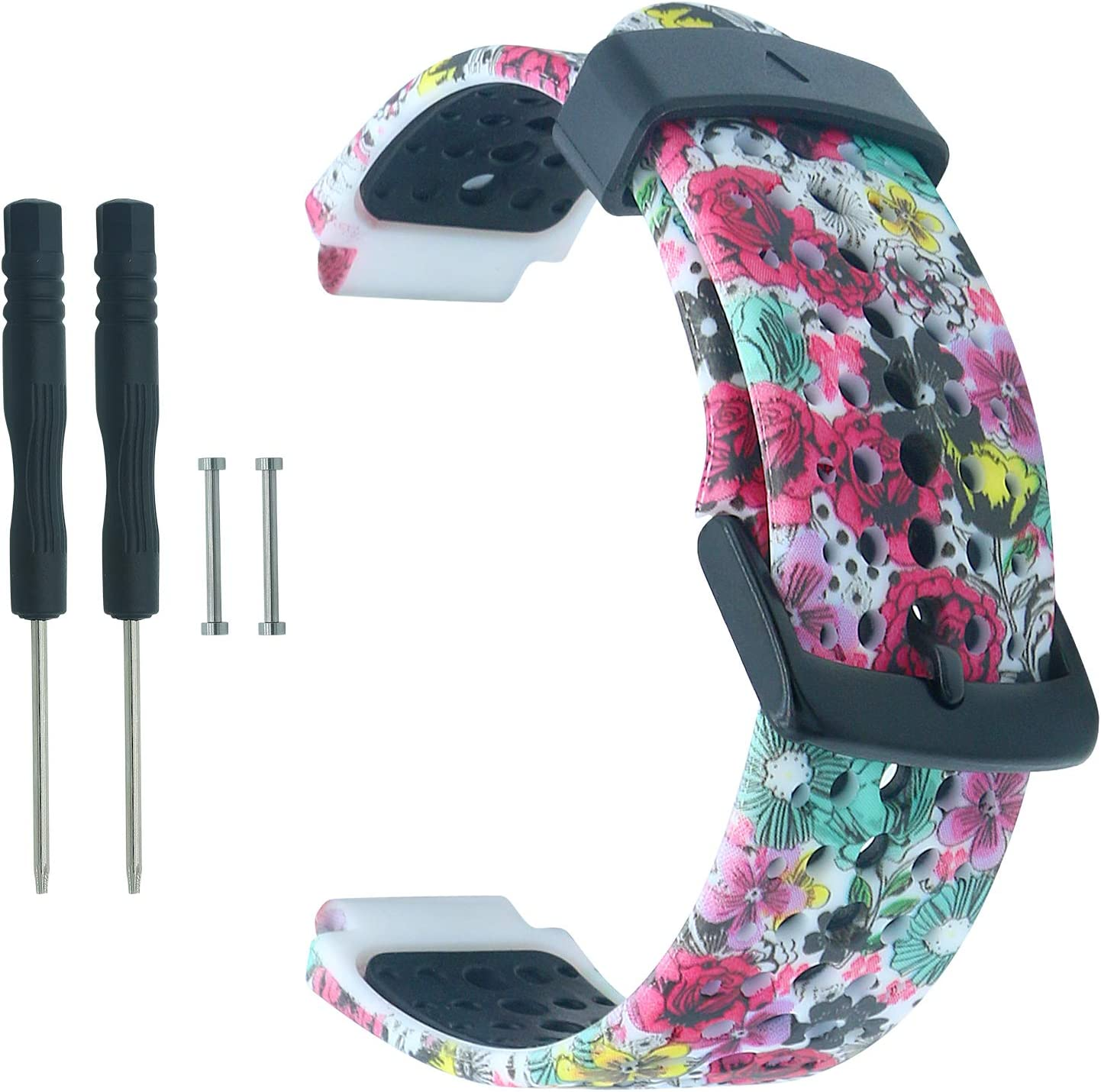 COLAPOO Silicone Strap Ranking TOP17 Soft Max 71% OFF Wristband With Garmin Compatible For