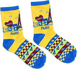Paris Robin Ruth Womens Ankle Socks Grey
