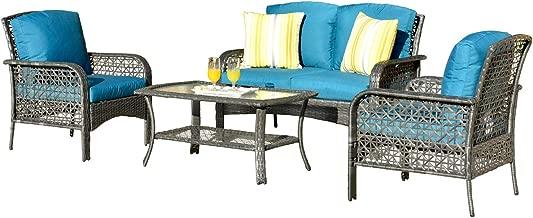 Best dark gray patio furniture Reviews