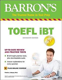 TOEFL iBT with Online Tests & Downloadable Audio (Barron's Test Prep)