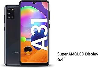 Samsung Galaxy A31 Dual SIM, 128GB, 4GB RAM, 4G LTE, UAE Version - Black - 1 year local brand warranty