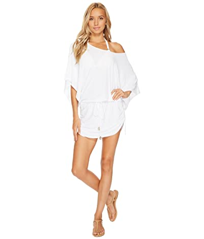 Luli Fama Cosita Buena South Beach Dress Cover-Up (White) Women