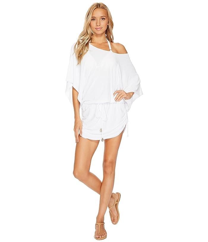 Luli Fama Cosita Buena South Beach Dress Cover-Up (White) Women