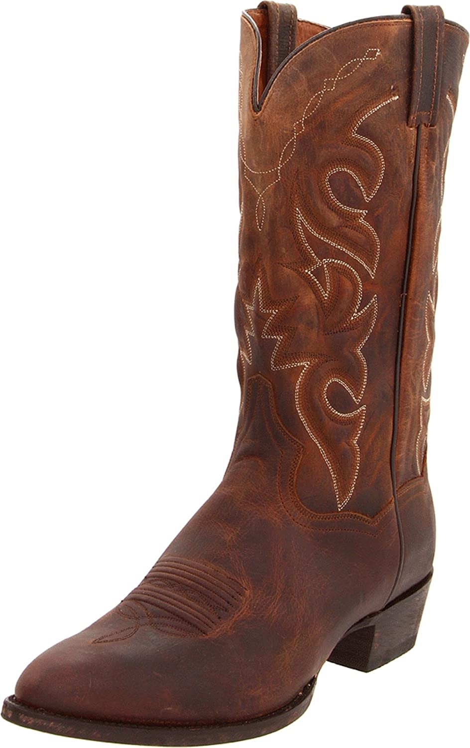 Dan Post Boots Tulsa Mall Mens Renegade Round Calf Year-end annual account - Toe Brown Mid