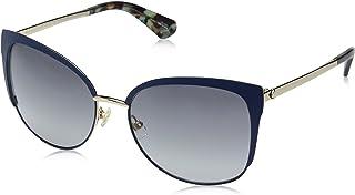 Kate Spade Women's Genice/s Cateye Sunglasses, Blue HVNA, 57 mm