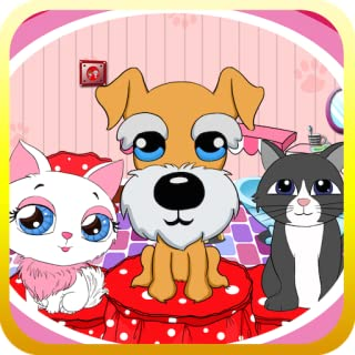 Dora's beauty pets salon free games for kids age 2+