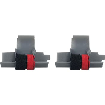 Canon P23-DH V Compatible 5 Pack Black and Red P27-DH Calculator Ink Roller