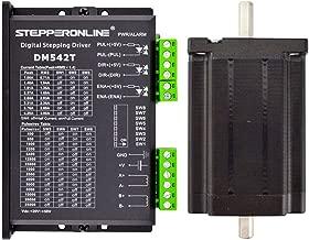 STEPPERONLINE 1 Axis Stepper CNC Kit 3.1Nm(439oz.in) Nema 24 Stepper Motor & Driver DM542T