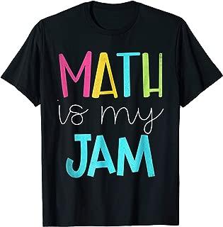 math is my jam t shirt
