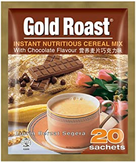 Gold Roast Instant Nutritious Cereal Mix Chocolate, 30 g (Pack of 20)