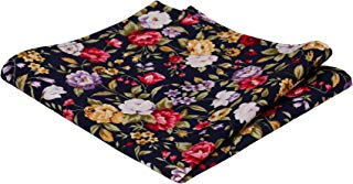 Lowery Floral Pocket Square, Handkerchief