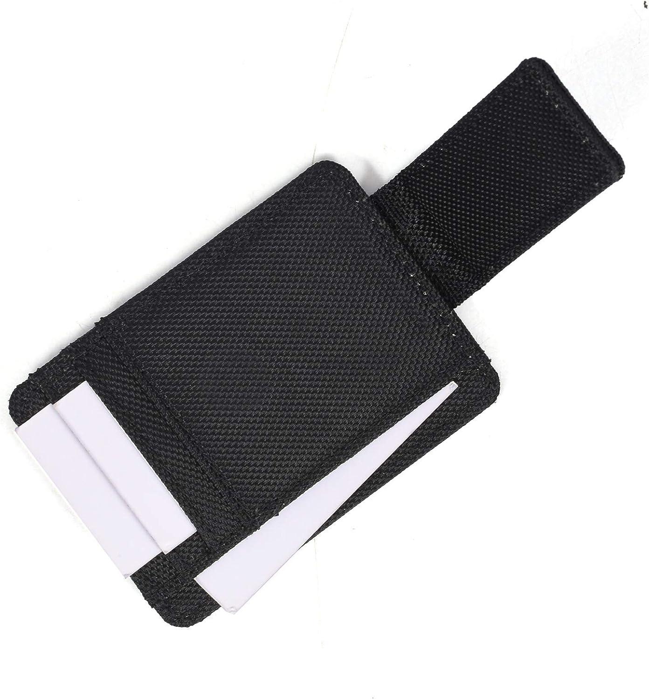Leather Wallets for Men Minimalist RFID Blocking Genuine Leather