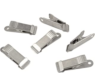 Micro-Mini Clamps, Smooth Jaw (5/16 Inch Capacity, Set Of 6)